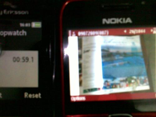 Email with Picture (59.1 sec with Globe gprs)