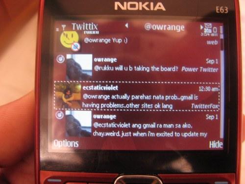 Twittix Threaded Conversation
