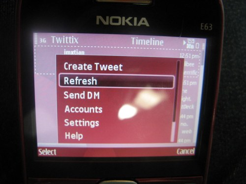 Twittix Option Button -- Create Tweet, DM, etc