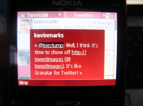 Tweets60 viewing a tweet to click on a link/url