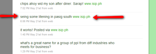 Isip.ph announcement of their launching