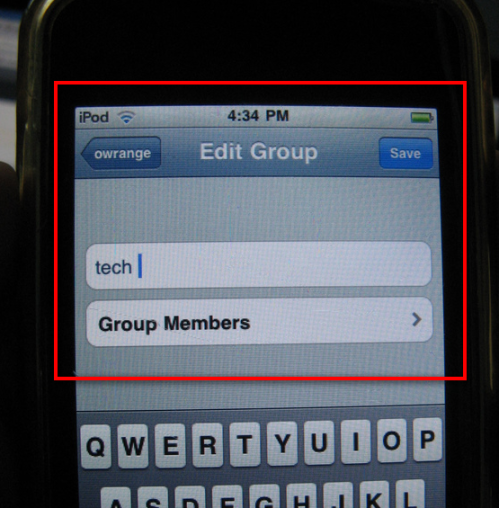 TwitBird' Add Group Feature