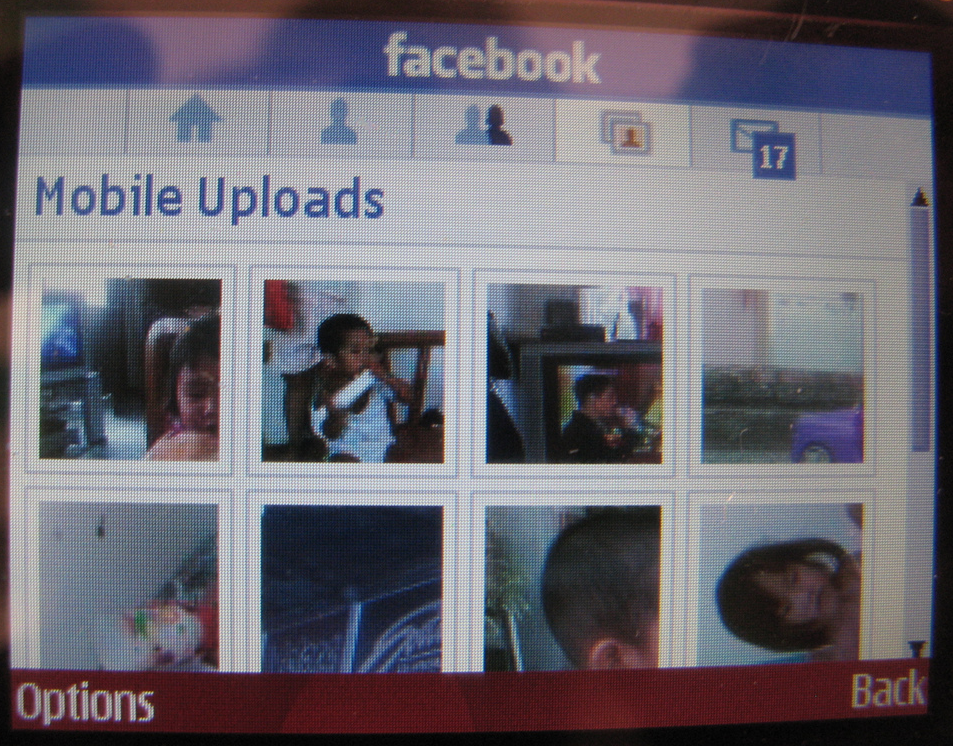 Facebook App for Nokia E71/E72 but Works in E63 | Mobile Tweeting in
